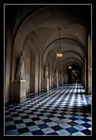 Versaille corridor. by serenityamidst