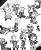 Organization XIII: Free Time by KamiKaze-no-Ryuu