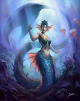 Mermaid by ShoZ-Art