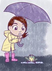 Rainy Walks by ClashingHarmony