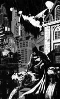 Batman Gargoyle by TylerChampion
