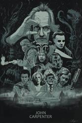 John Carpenter Poster by TylerChampion