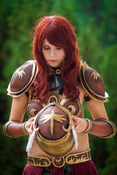 Valkyrie Leona Cosplay: Fight's won by MomoeHamaguchi