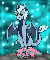 Azymondias on top of Bait | The Dragon Prince by Owibyx