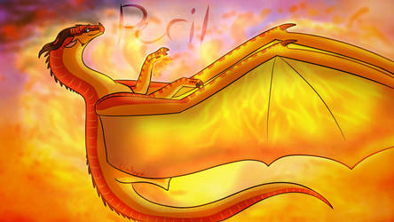Peril Wallpaper | Wings of Fire by Owibyx