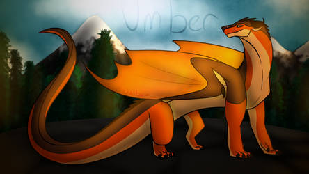 Umber Wallpaper | Wings of Fire by Owibyx