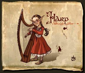 Sluaigh sidhe - harper by LeValeur