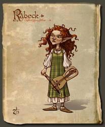 Sluaigh sidhe - fiddler2 by LeValeur
