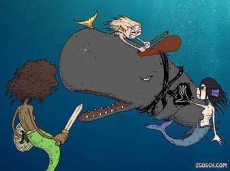 Inktober 2018 10 12 Whale By Zombie Kawakami On Deviantart