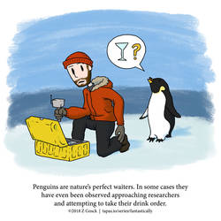 A Fantastically False Fact About Penguins by Zombie-Kawakami