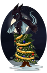 Xenos Is The Star [XMAS YCH 01] by KhaoticVex
