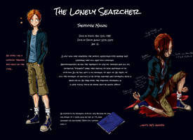 The Lonely Searcher [NEW REF] by DracoTempest