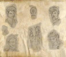 Skinwalker characters by NeekoNoir