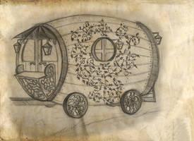 Lillian's  Wagon by NeekoNoir