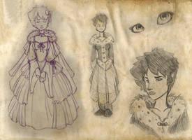 Lillian character page 1 by NeekoNoir