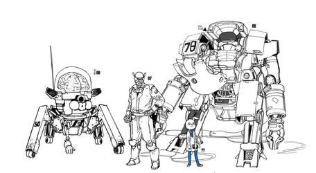 friends of deckman by JUNGAHLEE