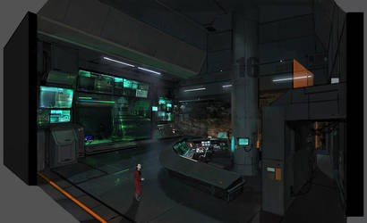 Control room by JUNGAHLEE