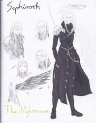 Sephiroth--The Nightmare by Shinobi-Saru-Corp