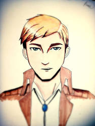Young Erwin Smith by Shinobi-Saru-Corp