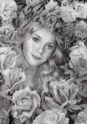 Rose Garden by CaroleHumphreys