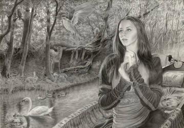 The Lady of Shalott by CaroleHumphreys