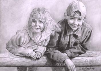 Chloe and Jordon by CaroleHumphreys