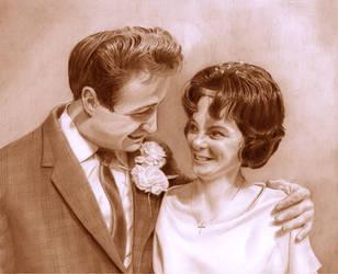 Cathy and Dave by CaroleHumphreys