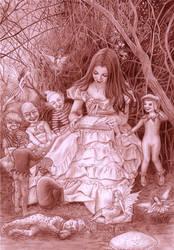 Once upon a time ... by CaroleHumphreys
