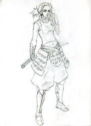 samurai_girl by chavdar-tn