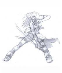 samurai_girl...again by chavdar-tn