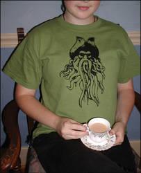 Tea with Davy by radishninja