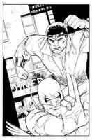 Power Man and Iron Fist by scottygod