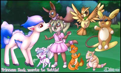 Princess Dook wants to Battle! by LittleDooker