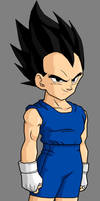 Vegeta Jr by SilverAngels07