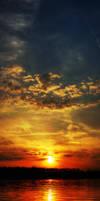 Sunset Bloody Sunset by kajtul