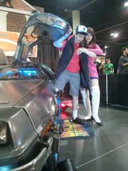 Megacon 2013 - Mabel and Dipper 2 - Time Travel by kitsune-keitaro