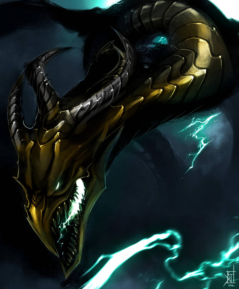 Lightning Dragon by TheRisingSoul on DeviantArt