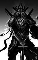 Boba Fett Samurai by TheRisingSoul