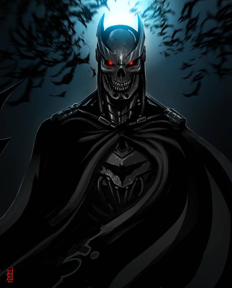 Batman Terminator by TheRisingSoul
