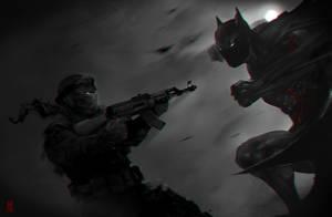 Dark Knight by TheRisingSoul