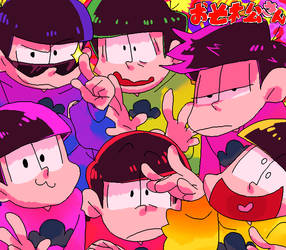 Osomatsu-san by eye-drool