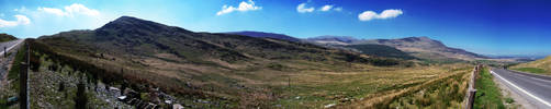 Crimea Pass, North Wales by iia02dennisg
