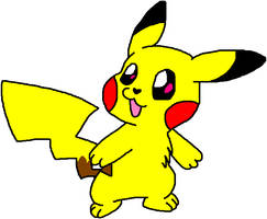 Pikachu by HeartinaRosebud