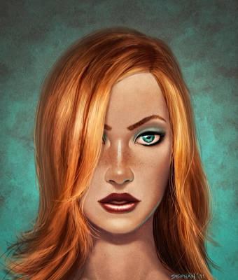 Redhead 7 by serhanyenilmez