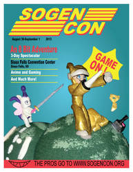 Sogen Con 2013 Poster by The-Evil-Mewthree