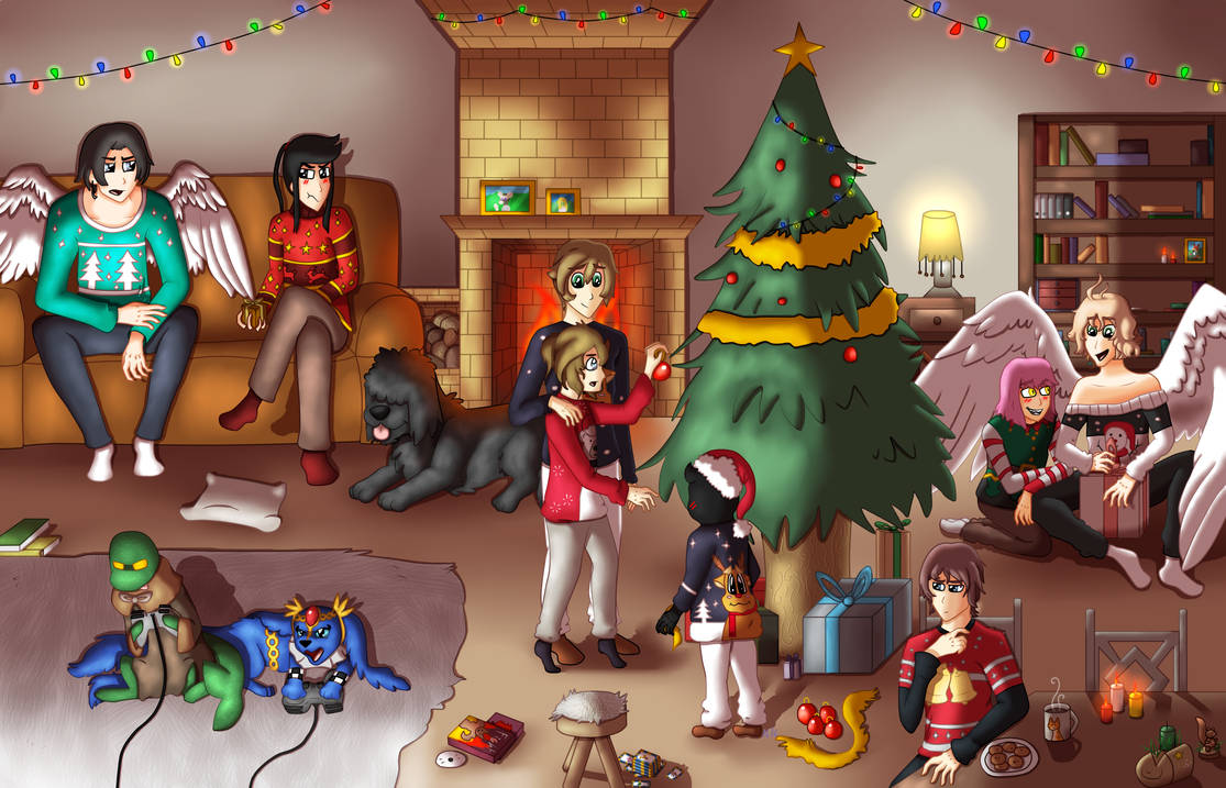 Une petite galerie ? - Page 3 The_night_before_christmas_by_eevee33_dcvgx3x-pre