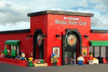 Lego Natural Foods Co-op by flavorpacket