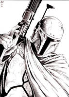 Boba Fett by philtactics
