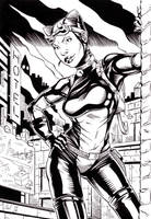 Catwoman Inks by philtactics