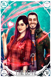 Valentine's Day Comissions: Daniela and Benjamin by Bathiel
